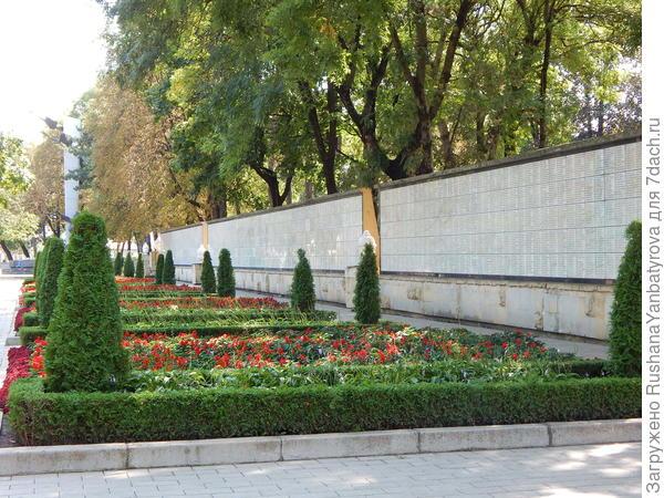 Мемориал памяти павших.