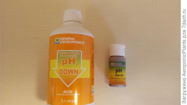 ph down, ph test