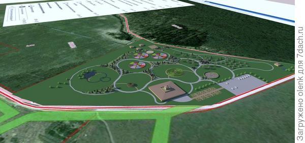 Проект ландшафтного парка в Иваново