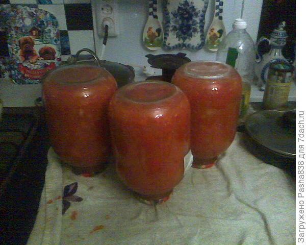дежурное лечо (помидоры пошли)