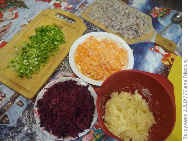 Рулет; Селёдочка, завёрнутая в шубу; пошаговый рецепт приготовления с фото