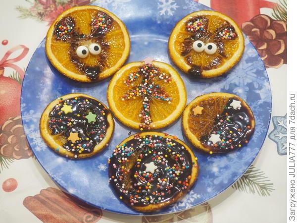 Апельсиновый десерт Символ года