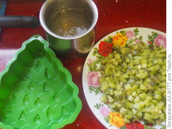Творожно-фруктовый десерт - пошаговый рецепт приготовления с фото