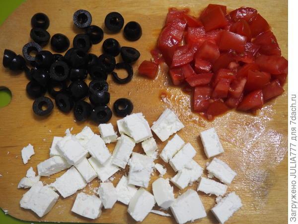 Омлет с маслинами и фетаксой по-гречески. Пошаговый рецепт с фото