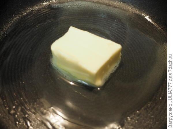 Блинные мешочки с карамельными фруктами - пошаговый рецепт приготовления с фото