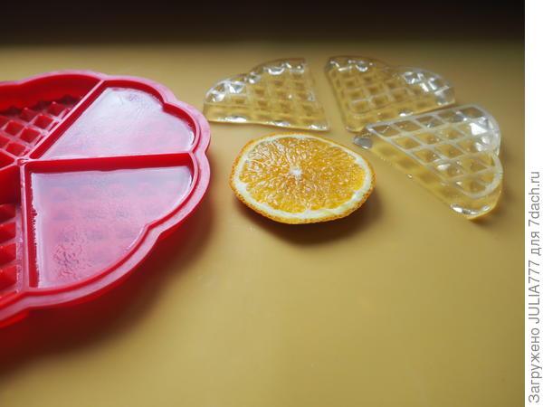 Лакомый апельсиновый кусочек