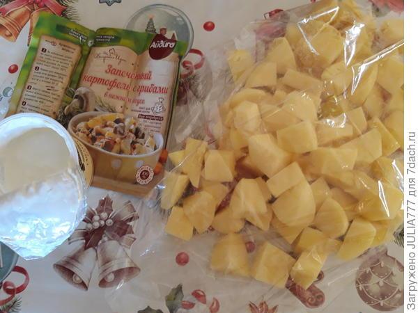 Томлёная картошка с ароматом и вкусом грибов