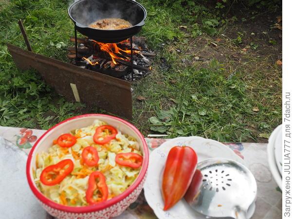 Хрустящая маринованная капуста. Пошаговый рецепт с фото