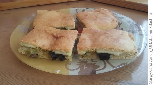 Пирог из сушёных водорослей нори