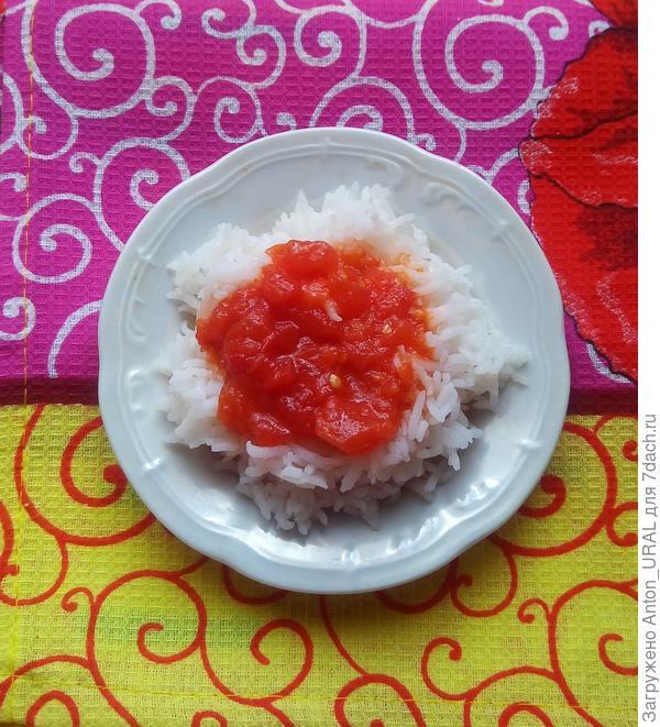 Заправка-соус из томатов