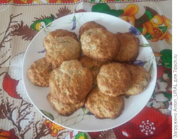 Печенье овсяное с цукатами