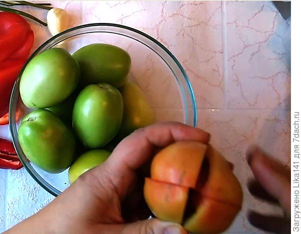 Зеленые помидоры по грузински рецепт
