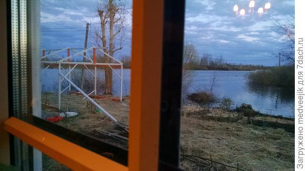 Приятно смотреть из окна на результат работы
