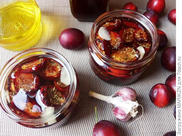 Вяленые сливы - пошаговый рецепт приготовления с фото