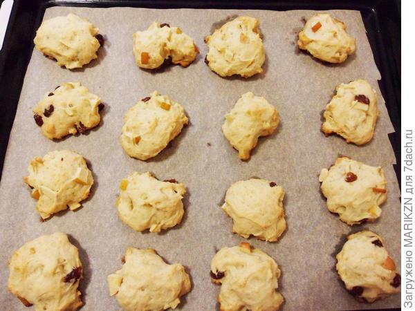 Мягкое яблочное печенье к чаю - пошаговый рецепт приготовления с фото