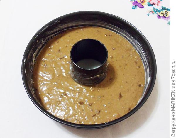 Шоколадно-банановый кекс к чаю - пошаговый рецепт приготовления с фото