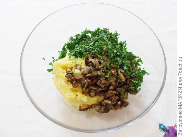Шанежки с картошкой и грибами - пошаговый рецепт приготовления с фото