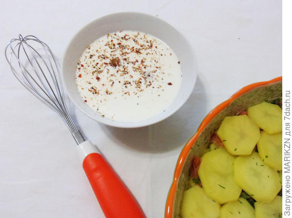 Запеканка из картофеля и копченой горбуши - пошаговый рецепт приготовления с фото
