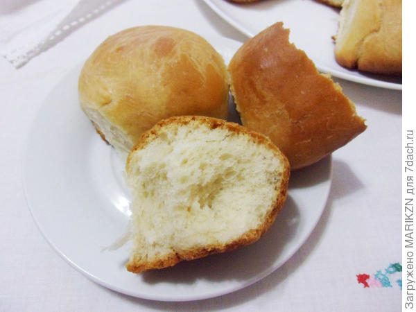 Домашние обеденные булочки - пошаговый рецепт приготовления с фото