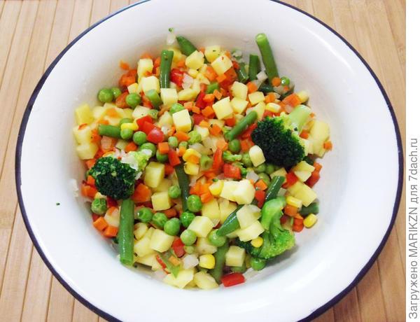 Куриная запеканка с овощами - пошаговый рецепт приготовления с фото