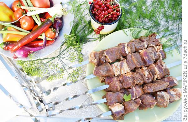 Шашлык из говяжьей вырезки - пошаговый рецепт с фото