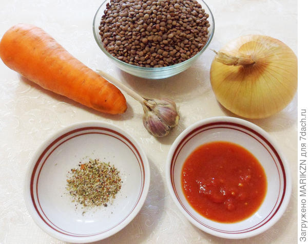 Суп-пюре из красной чечевицы. Пошаговый рецепт приготовления с фото