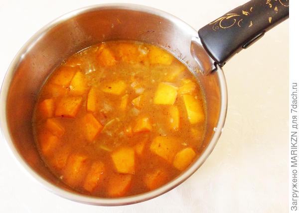 Суп-пюре из тыквы. Пошаговый рецепт с фото