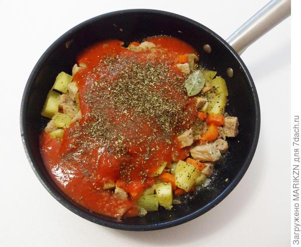Коблер - мясное рагу под мягкими лепешками. Пошаговый рецепт с фото