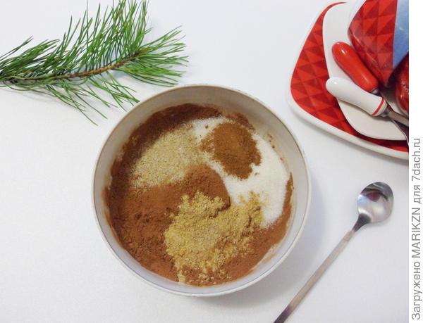 Какао с согревающими специями. Пошаговый рецепт с фото