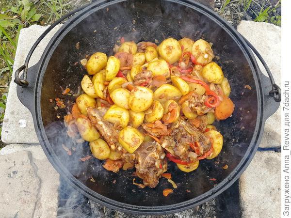 Обжарка картофеля