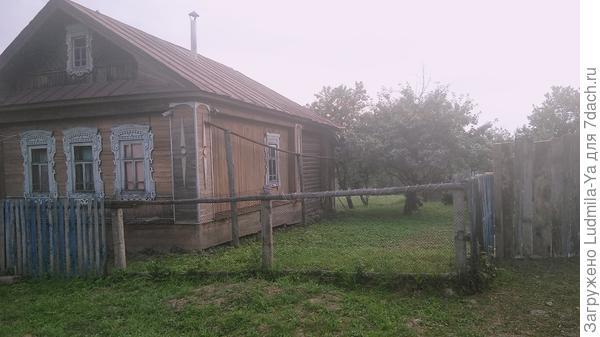 12. Старый дом (все яблони под выкорчевку, место освобождается)