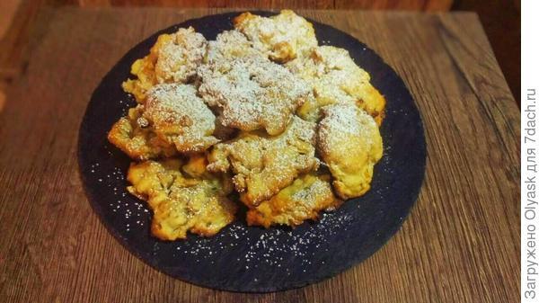 Домашнее печенье с орехами и яблоками — ленивый рецепт для сладкоежек