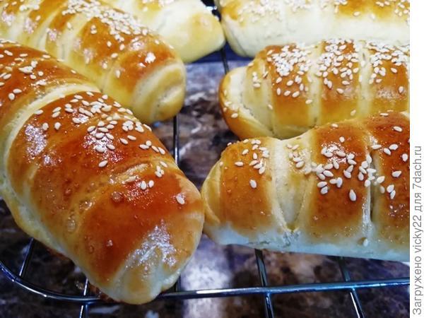 Охлаждаем булочки