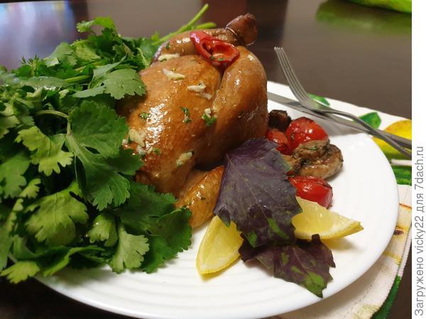 Нежнейшие копченые цыплята - пошаговый рецепт приготовления с фото