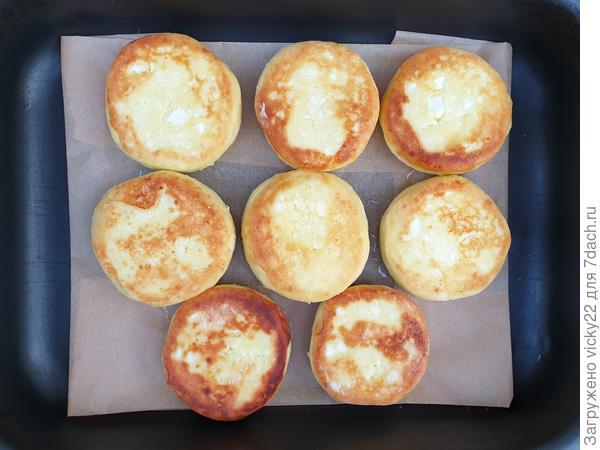 Сырники; Бабушкины; пошаговый рецепт приготовления с фото