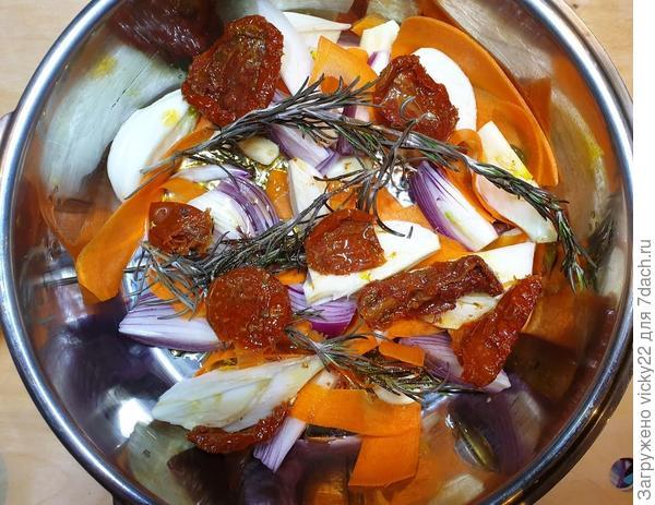 Говядина по-провански с апельсиновым рисом. Пошаговый рецепт с фото