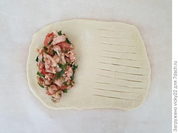 Бездрожжевые пицца-пирожки - пошаговый рецепт приготовления с фото