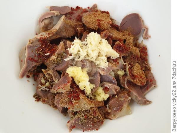 Острые маринованные желудочки - пошаговый рецепт приготовления с фото