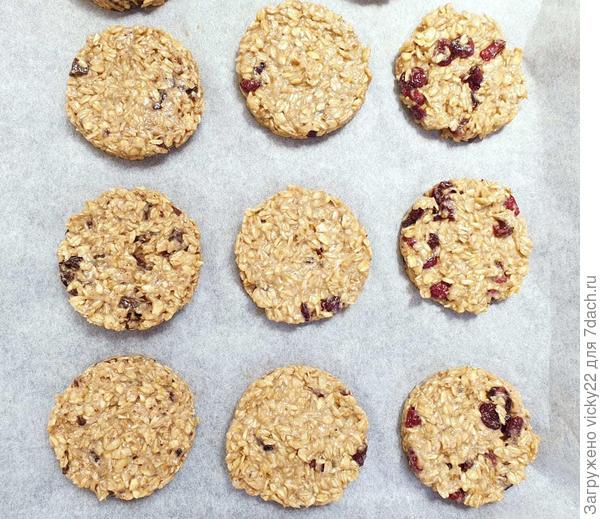Постное овсяное печенье - пошаговый рецепт приготовления с фото