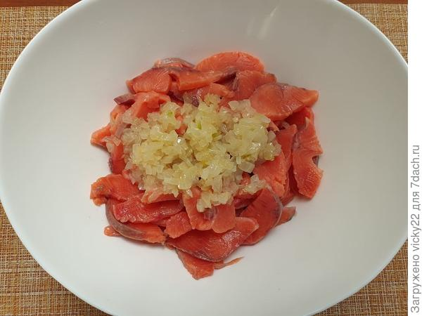 Хе из горбуши - пошаговый рецепт приготовления с фото