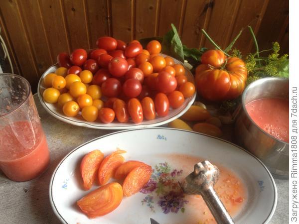 Черри в томатном соке на зиму. Быстрый рецепт с пошаговыми фото