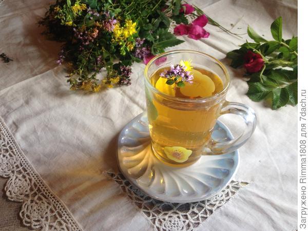 Чай из трав — источник бодрости, здоровья и хорошего настроения!