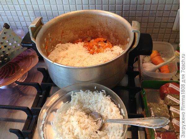 Плов Александра Македонского, или Накормить за полчаса - пошаговый рецепт приготовления с фото