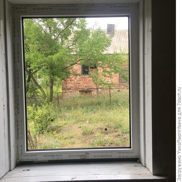 """Еще один """"пейзаж"""", вид на соседский участок, на который я глаз положила)))"""