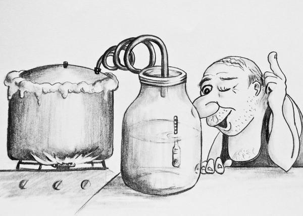 Первач, или первак, пить нельзя!