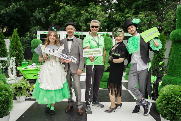 Сад Алиса в стране Greenworks приглашает гостей