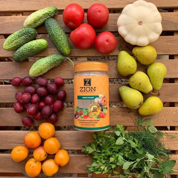 Запатентованная питательная добавка для растений Цион
