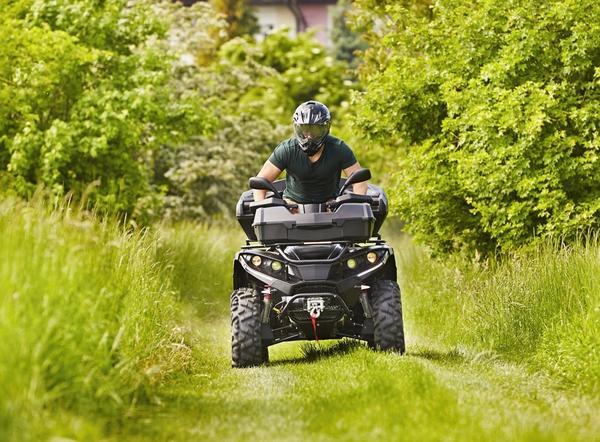 К выезду на природные просторы квадроцикл необходимо подготовить