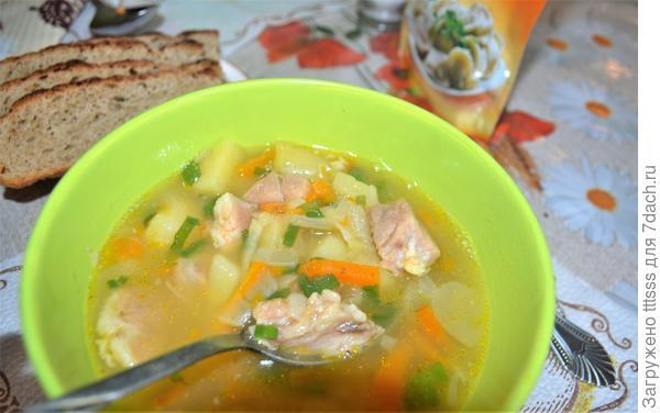 Гороховый суп; древний гость; на вашем столе - пошаговый рецепт приготовления с фото