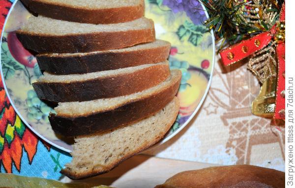 Домашний хлеб в духовке - пошаговый рецепт приготовления с фото